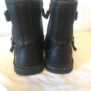 a3dff7cd1e6 UGG T Harwell Boots Black baby girl US size 8
